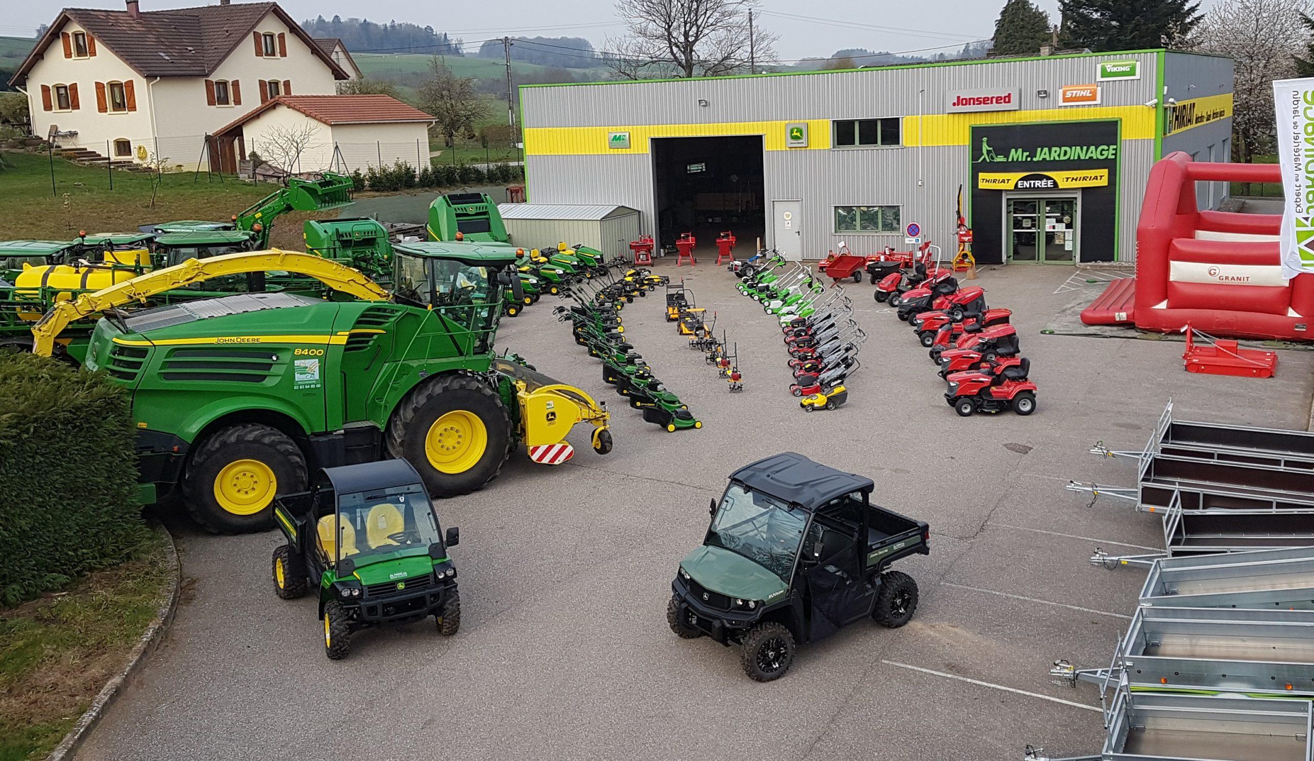 thiriat motocuture machines agricles