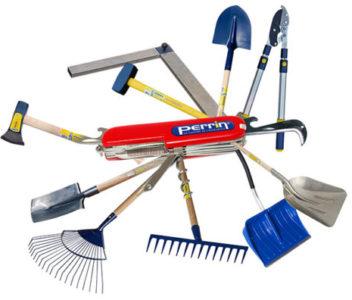 Outillage de jardin et désherbage mécanique