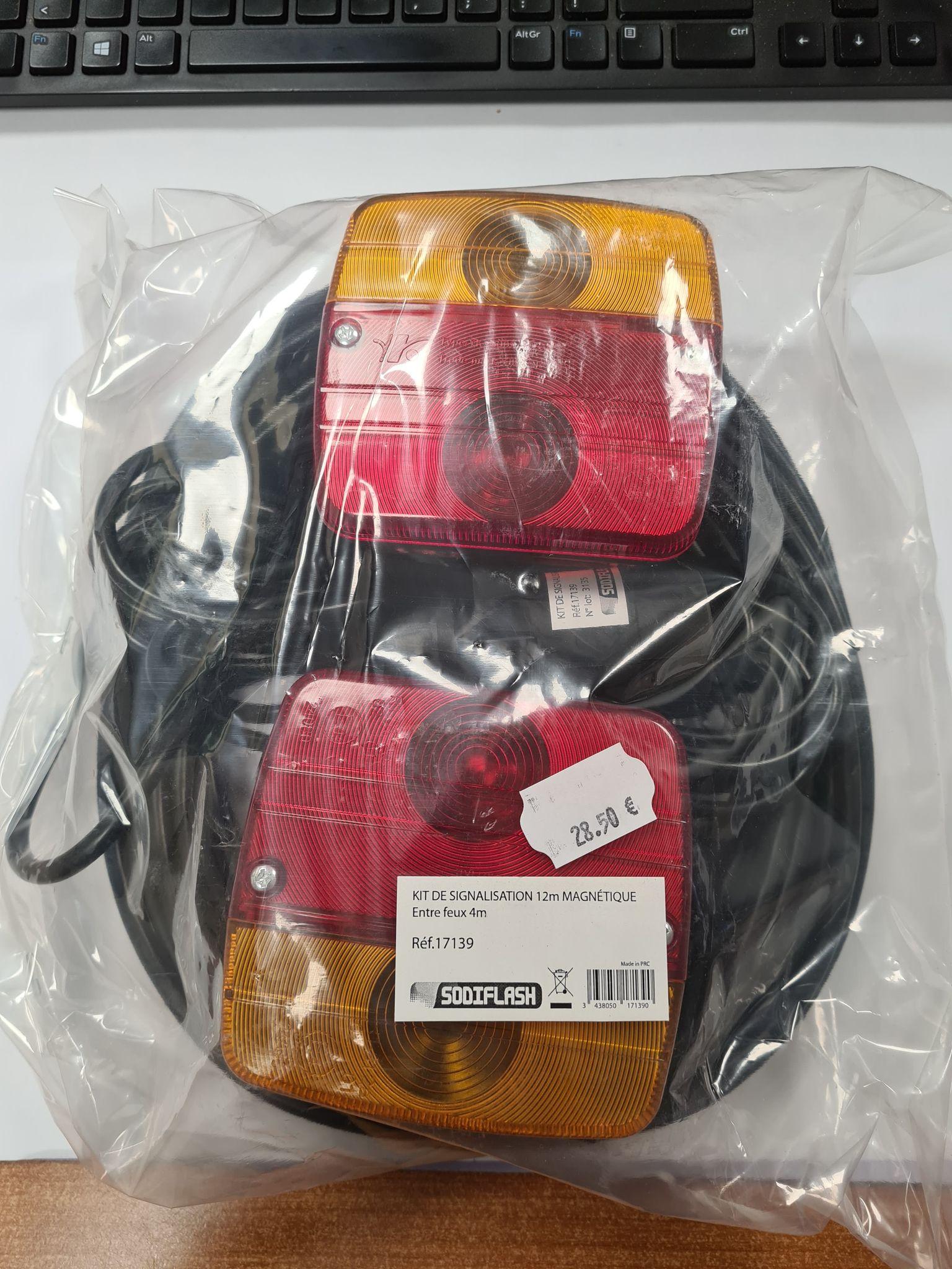 Kit magnétique feux standards 17139
